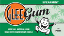 Glee Gum All Natural Gum Spearmint, 16 Pieces