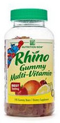 Nutrition Now Rhino Gummy Multi Vitamin, 190 Gummy Bears - FREE Shipping