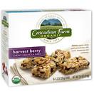 Cascadian Farm Organic Harvest Berry Chewy Granola Bars, 7.4 oz
