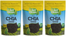 Just Grown Raw Chia Seeds 3 Pack