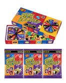 Jelly Belly Beanboozled Jelly Beans Party Pack, 1 Spinner Gift Box and 3 Refill Bags
