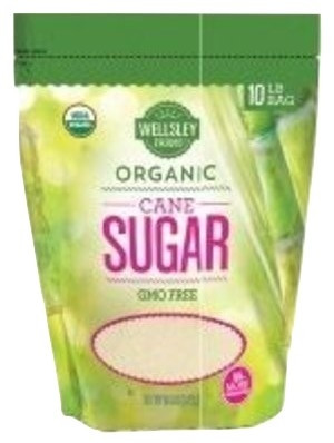 Wellsley Farms Organic Cane Sugar, 10 lbs.