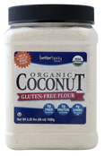 Better Body Foods Organic Coconut Gluten Free Flour