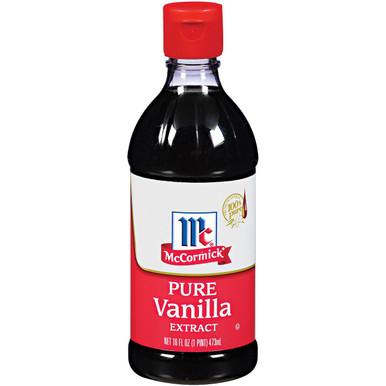 McCormick Pure Vanilla Extract, 16 oz.