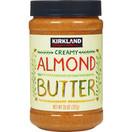 Kirkland Creamy Almond Butter, 27 oz.