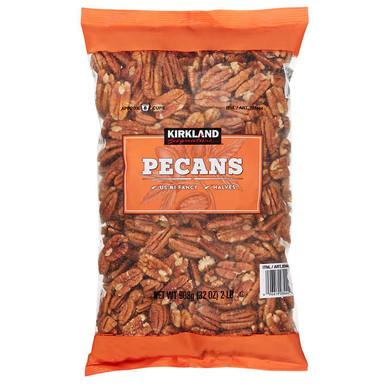 Kirkland Raw Pecan Halves, 2 lbs