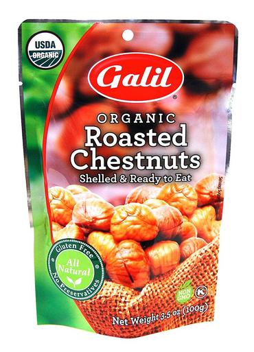 Galil Organic Roasted Chestnuts, 3.5 oz