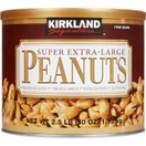 Kirkland Roasted and Salted Super Extra Large Peanuts, 2.5 lbs.
