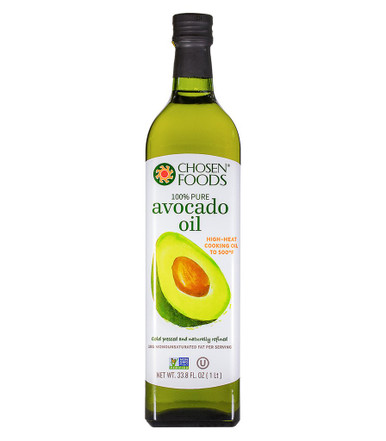 Chosen Foods Pure Avocado Oil, 1 Liter