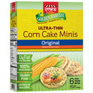 Paskesz Golden Harvest Corn Cake Minis Original