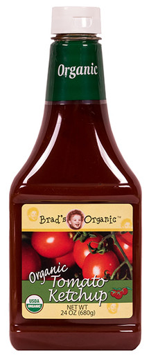 Brads Organic Organic Tomato Ketchup, 24 oz.