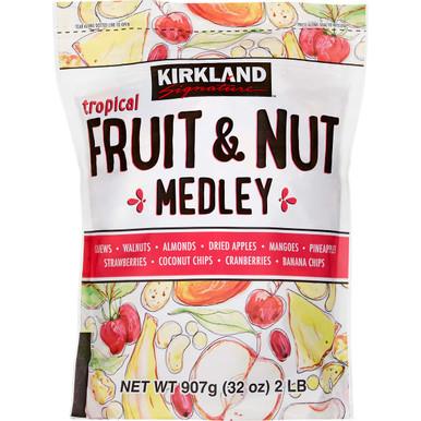 Kirkland Tropical Fruit and Nut Medley, 32 oz.