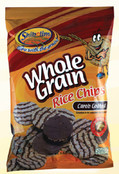 Shibolim Whole Grain Rice Chips Carob Coated, 3.5 oz. BLACK FRIDAY AND CYBER MONDAY SALE