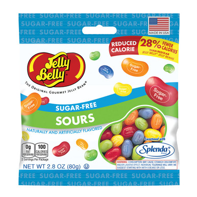 Jelly Belly Sugar Free Jelly Beans Sours, 2.8 oz.