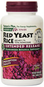 Natures Plus Herbal Actives Red Yeast Rice Extended Release 600 mg, 60 Tablets