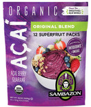 Sambazon Organic Acai Superfruit Packs, 42 oz