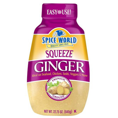 Spice World Squeeze Ginger, 22.75 oz.