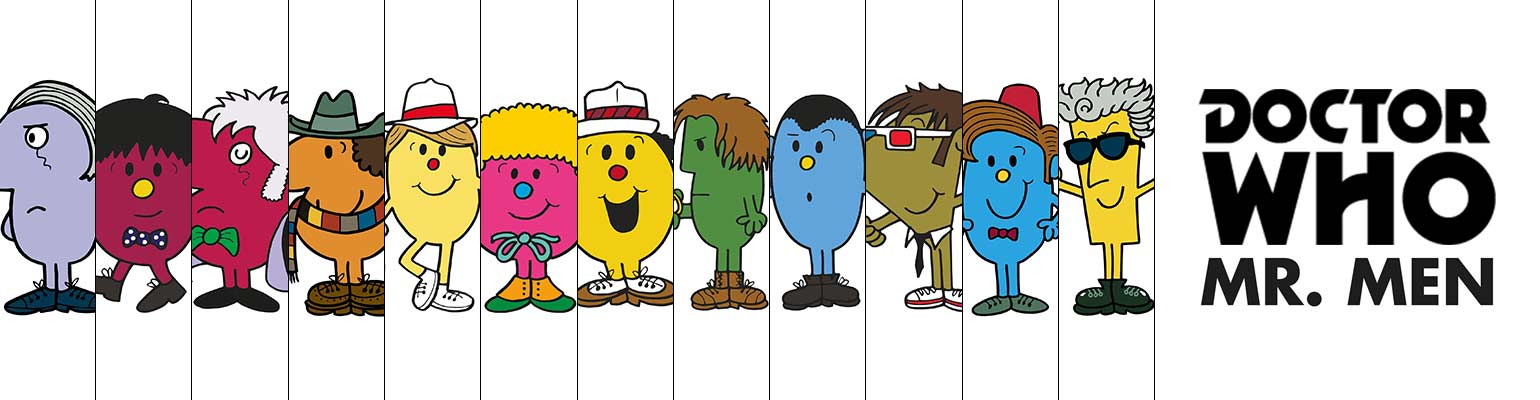 Dr. Who Mr Men Books by Roger Hargreaves