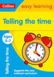 Telling the Time Ages 5-7 cover photo