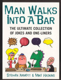 Man Walks into a Bar: The Ultimate Collection of Jokes and One-liners cover photo