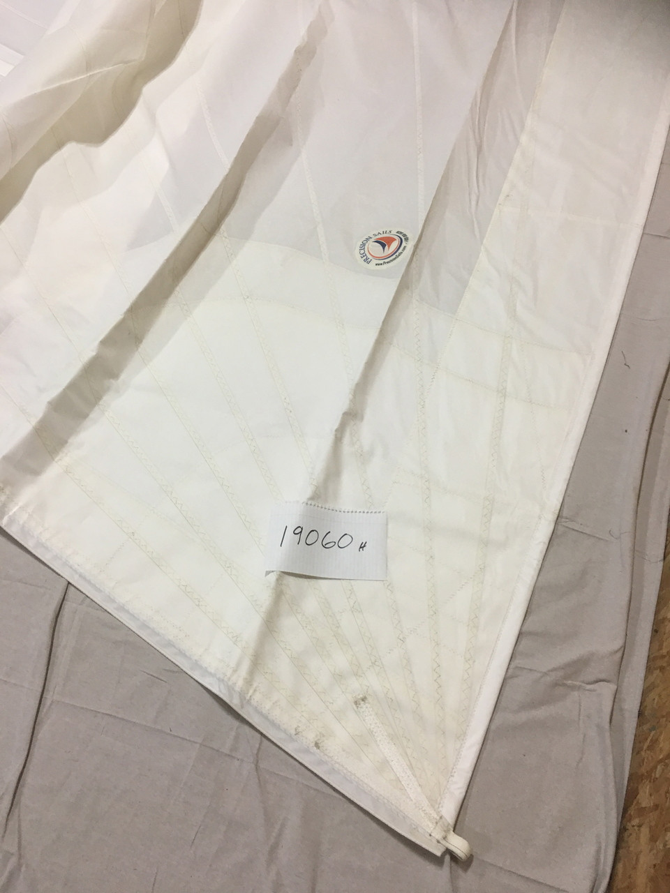 43 Hunter In-Stock Used Furling Headsail LP % 150 Sails Precision