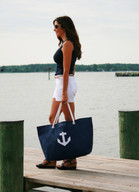 Large anchor tote