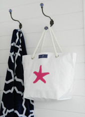 CLEARANCE-LARGE STARFISH TOTE