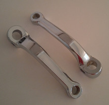 Vespa 125mm Chrome Pedal Crank Arm Set