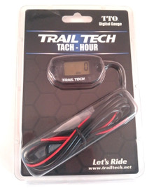 Trail Tech Tach / Hour Gauge 742-A00 - Black