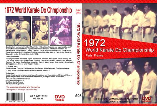 1972 World Karate Do  Championship