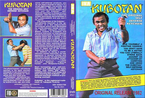 KUBOTAN (Original Release 1985) The Original KUBOTAN Self Defense Stick
