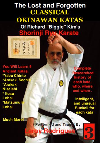 Lost and Forgotten Classic Okinawan Katas Vol 3 (Video Download)