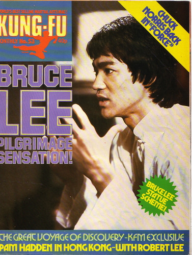 Bruce Lee Poster Magazine #53 Exclusive Interview with Robert Lee