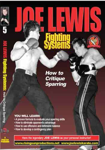 Joe Lewis - How to Critique Sparring (Video Download)