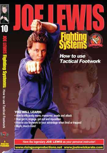 Joe Lewis - How to Use Tactical Footwork(video download)