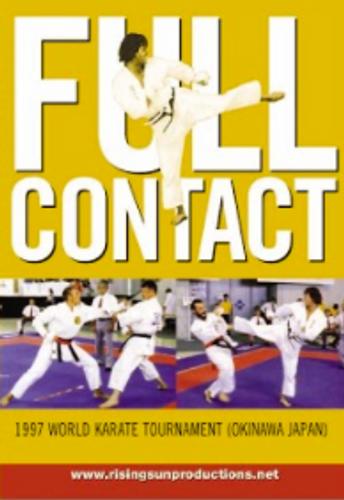 Full Contact 1997 World Karate Tournament (Okinawa Japan)dL M-0012