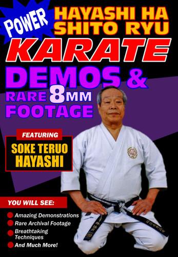 Power Karate Hayashi Ha Shito Ryu Demo's and Rare 8mm Film (Download)