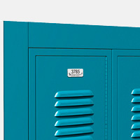 ASI Metal Lockers - Recess Trim
