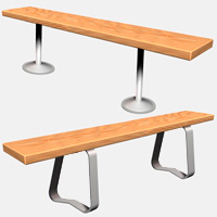 Bench Tops & Pedestals
