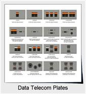 Shop Data Telecom Plates