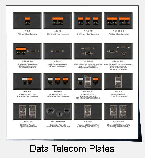 Data Telecom Plates