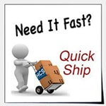 We offer fast shipping on partitions.