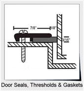 Door Seals, Thresholds & Gaskets