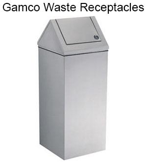Commercial bathroom accessories gamco washroom - Commercial bathroom waste receptacles ...
