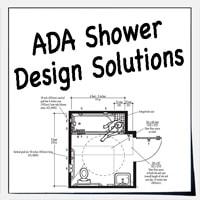 ada design solutions for shower stalls