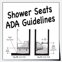 ADA Shower Seats For Showers And Bathtubs