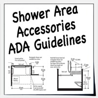 ADA Accessories For Showers And Bathtubs