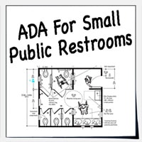 Small Restrooms - ADA Guidelines