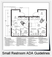 ADA Guidelines For Small Or Single Public Restrooms | ADA Guidelines