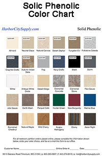 Bathroom Shower Dressing Stalls Color Charts Harbor